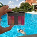subir pH piscina Cómo bajar o subir el pH de la piscina ph semicuantitativo con fondo de piscina